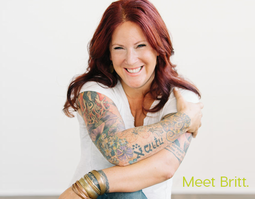Meet Britt | Life Coaching | Business Coaching Program | In Arms Coaching